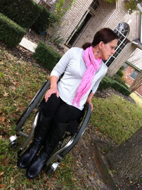 What Im wearing The Wheelchair Mommy